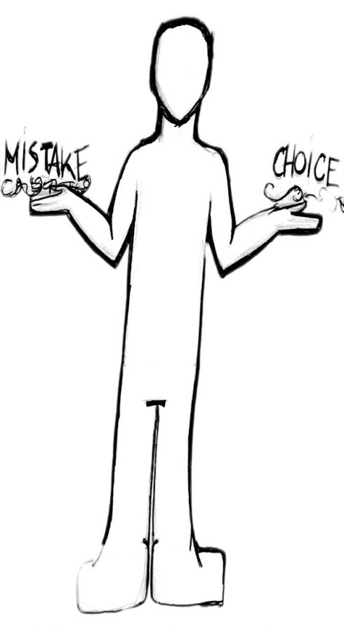 Is cheating a choice or a mistake