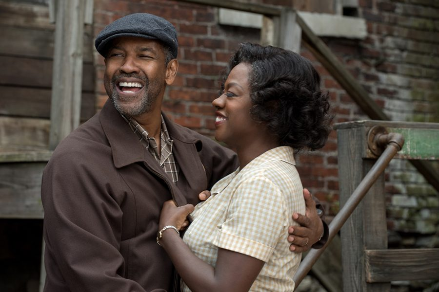Denzel+Washington+plays+Troy+Maxson+and+Viola+Davis+plays+Rose+Maxson+in+Fences+from+Paramount+Pictures.+Directed+by+Denzel+Washington+from+a+screenplay+by+August+Wilson.