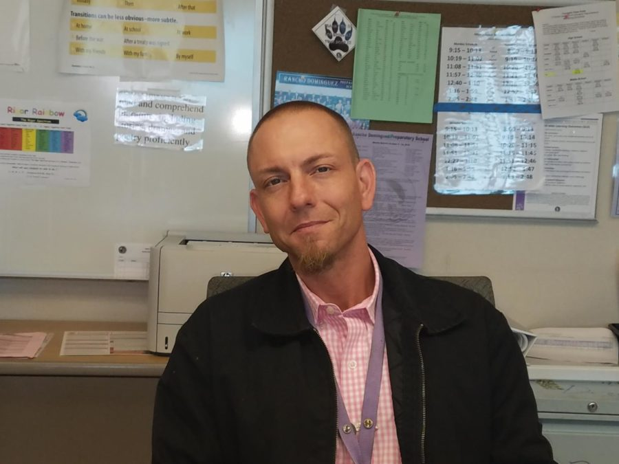 Teacher spotlight: Mr. Wu