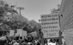 Los Angeles protest for racial justice on May 30, 2020.