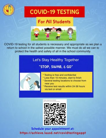 Get Tested Through LAUSD's COVID Testing Program