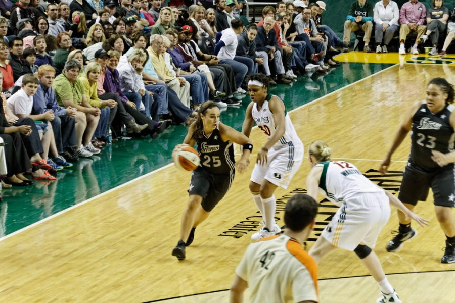 Becky Hammon, a former WNBA athlete is now the assistant head coach for the San Antonio Spurs